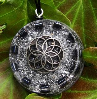 Orgonite pendants orgonise yourself crystal healing orgone hematite orgonite pendant mozeypictures Images