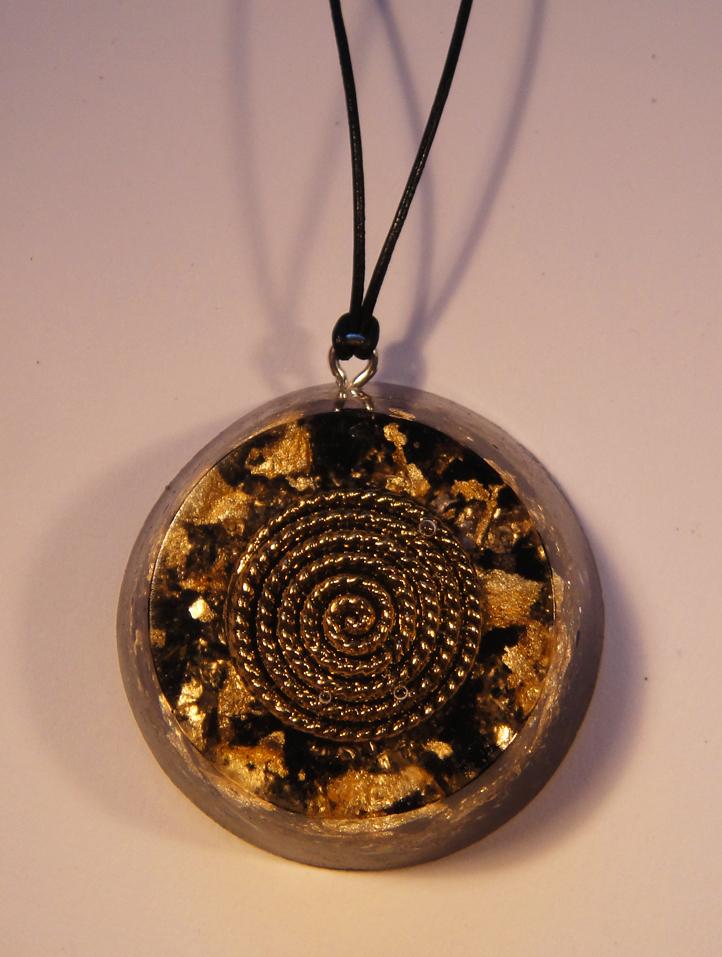 Tourmalinegold orgonite4 orgonise yourself crystal healing orgone black tourmaline gold orgonite pendant talisman aloadofball Images