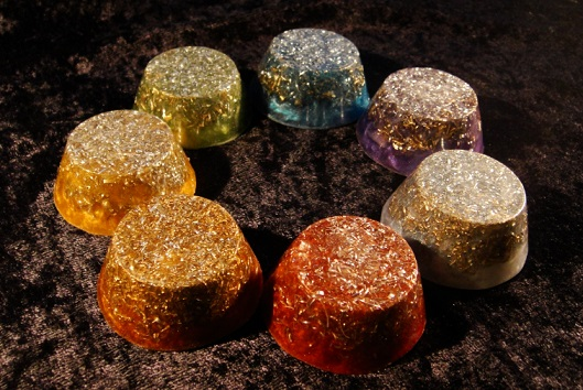 energy blockages and chakra orgonite