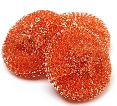 Copper scrubbers orgonite