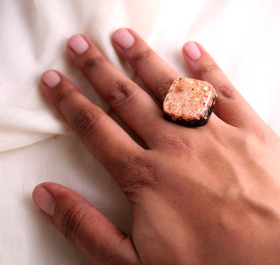 orgonite copper ring