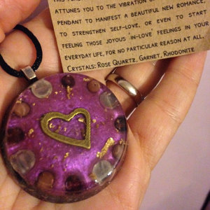 Love orgonite pendant review 2