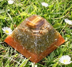 tigers eye pyramid orgonite review