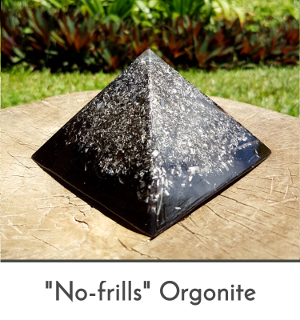 no frills - buy inexpensive basic cheap orgonite