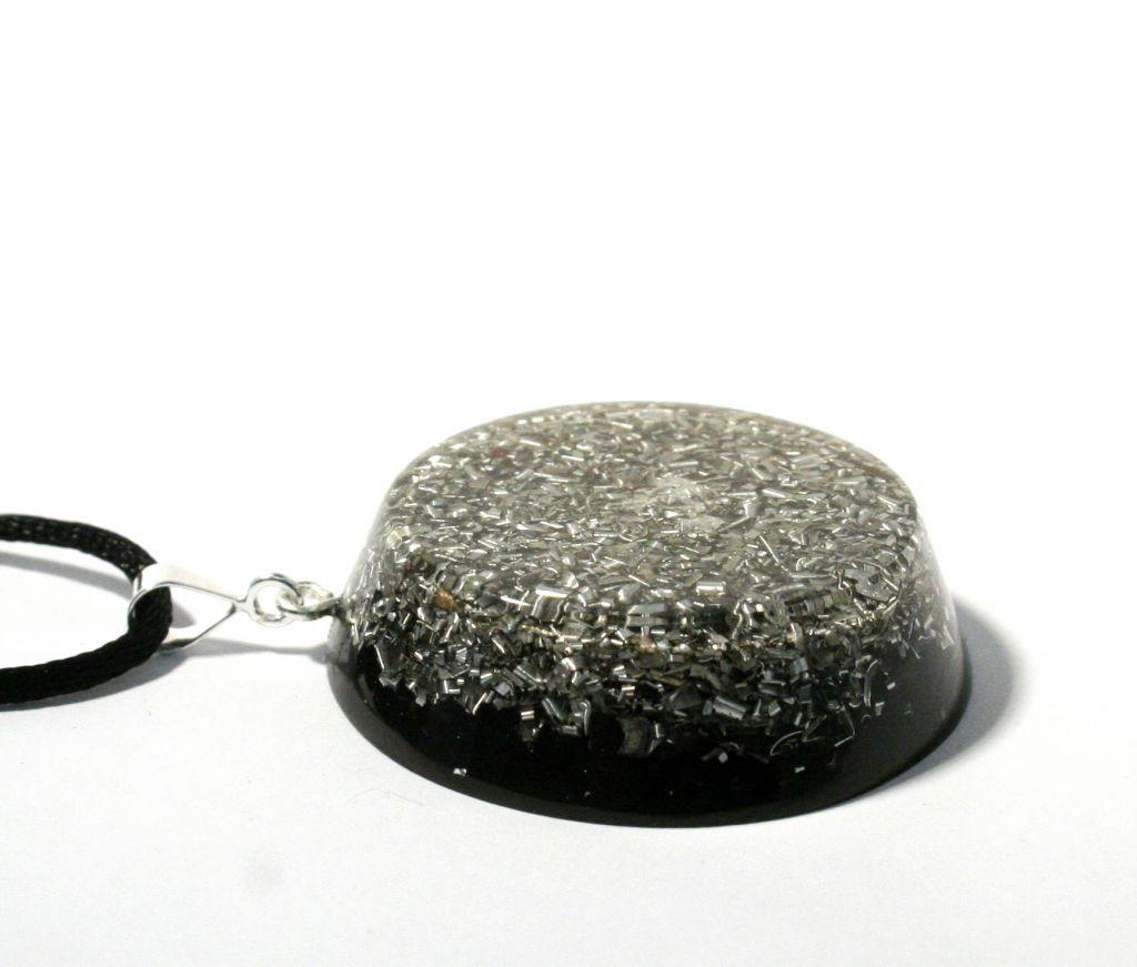 Large no-frills orgonite pendant - orgonite necklace 2