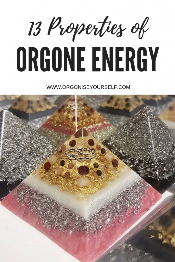 13 properties of orgone energy