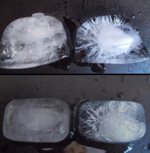 orgonite ice experiment 3