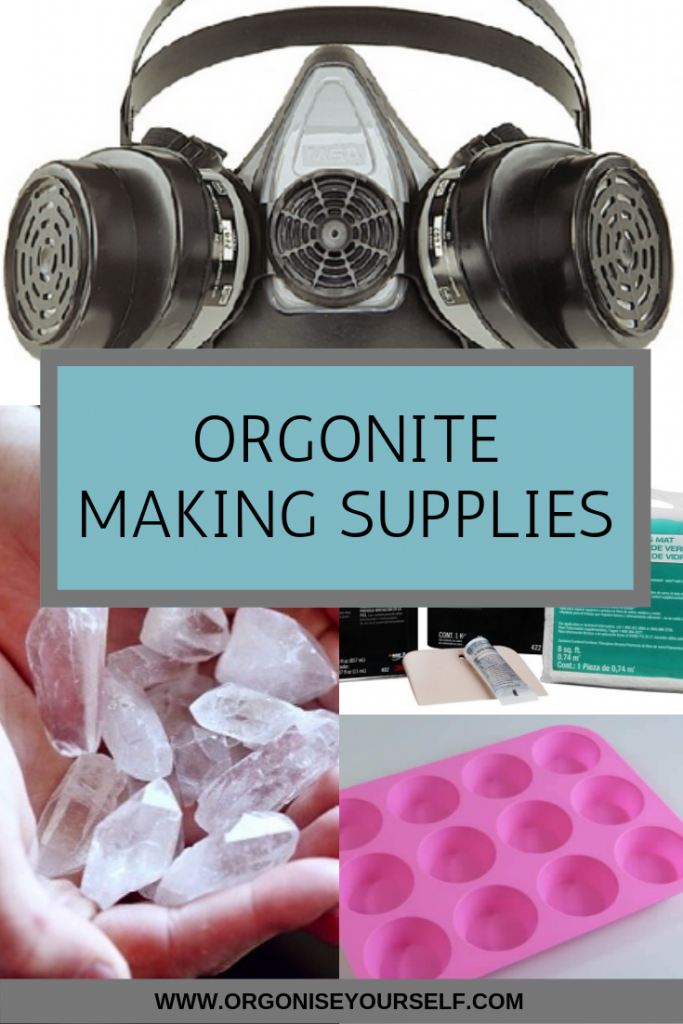 Orgonite making supplies