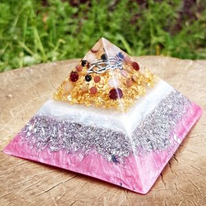 love orgonite pyramid - orgone energy