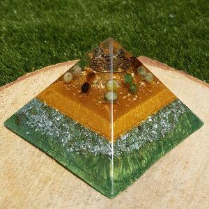 abundance orgonite pyramid