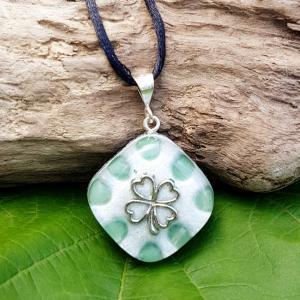 aventurine orgonite pendant - orgone necklace
