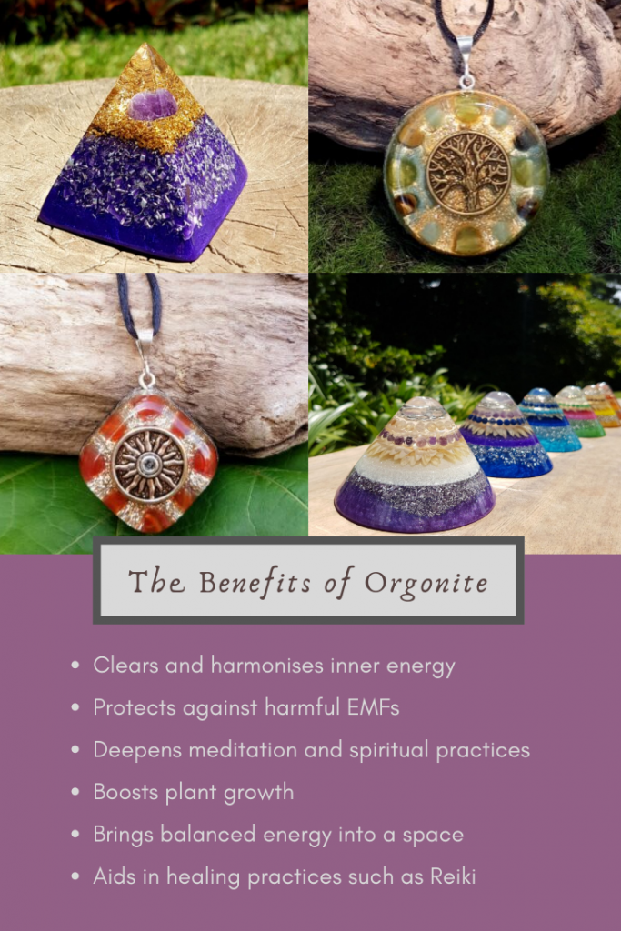 benefits of orgonite