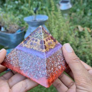 New orgonite pyramid!