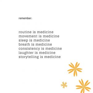 What's your medicine?